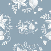 Floral seamless pattern — Stockvektor