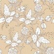 Floral seamless pattern — Stock Vector #27398355