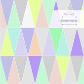 Triángulo mágico — Vector de stock