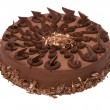 Stock Photo: Ruffle decorated Chocolate torte - cake