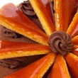 Hungarian Dobos torte - cake — Stock Photo