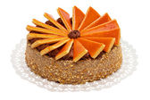 Big sized hungarian Dobos torte - cake — Stock Photo