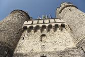 Castelo steen em antuérpia, bélgica — Foto Stock