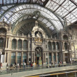 Stock Photo: Antwerpen station