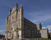 Cathedral of Orvieto. Umbria. Italy. — Stock Photo
