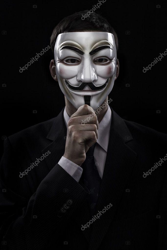 anonymous man suit - photo #8