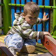 Stock Photo: Toddler chute