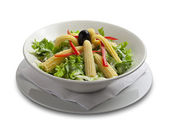 Healthy salad with corn — Stock Photo