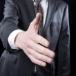 Businessman Shaking Hand — Stock Photo
