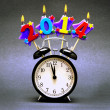 Happy New Year 2014! - Stock Photo