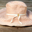 Womn's Sun Hat — Stock Photo
