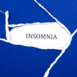 Insomnia Blues — Stock Photo