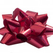 Isolated Red Bow — Stock Photo