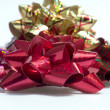 Selective Focus Red Bow — Stock Photo