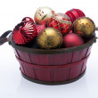 Christmas Tree Ornaments — Foto Stock