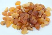 Amber stones — Stock Photo