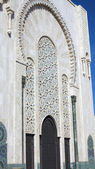 Casablanca Hassan II Mosque Minaret. — Stock Photo