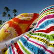 Stock Photo: Beach towels