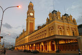 Old station in sao paulo, brazil — Stock Photo