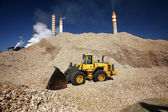 Excavator working  — Stock Photo