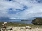 Titicaca lake, bolivia — Stock Photo