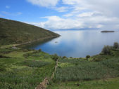 Titicacameer, bolivia — Stockfoto