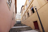 Historical street, sao paulo, brazil — Stock Photo