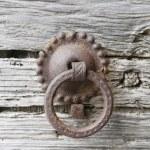 Old door knockers — Stock Photo #48580857