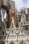 Détail de la cathédrale sagrada familia de Barcelone. — Photo