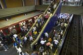 Metropolitan station — Stock Photo