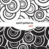 Swirl seamless pattern — Stock Vector