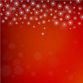 Abstract winter red background — Stock Vector