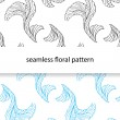 Seamless floral pattern — Stock Vector #35855721