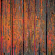 Painted wooden fence background — Stock Photo