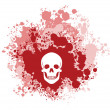 Royalty-Free Stock Vector Image: Bloody Skull