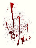 Blood Spatter — Stock Vector