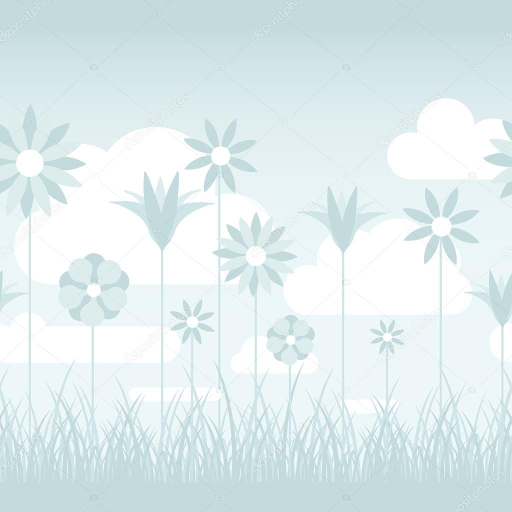 illustration soft floral - photo #12