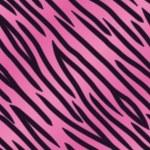 Pink Tiger Stripe Background — Stock Vector