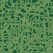Circuit Background — Stock Vector