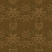 Elegant Sepia Pattern — Stock Vector