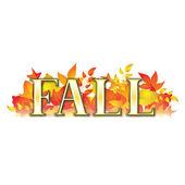 Fall Banner — Stock Vector