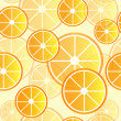 Oranges Background — Stock Vector