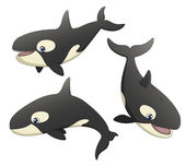Orca Set — Stock Vector