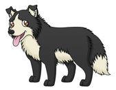 Owca pies — Wektor stockowy