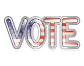 Banner de votación — Stockvector