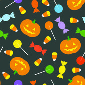 Retro Halloween Background — Stock Vector