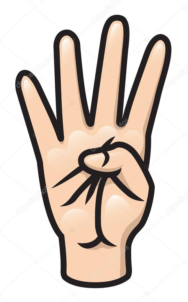 Почему в мультиках рисуют 4 пальца