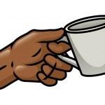 Hand Holding A Mug — Stock Vector #37601157