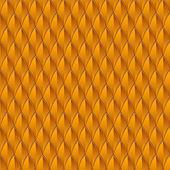 Orange Reptile Skin — Stock Vector