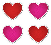 Valentine's Tags — Stock Vector